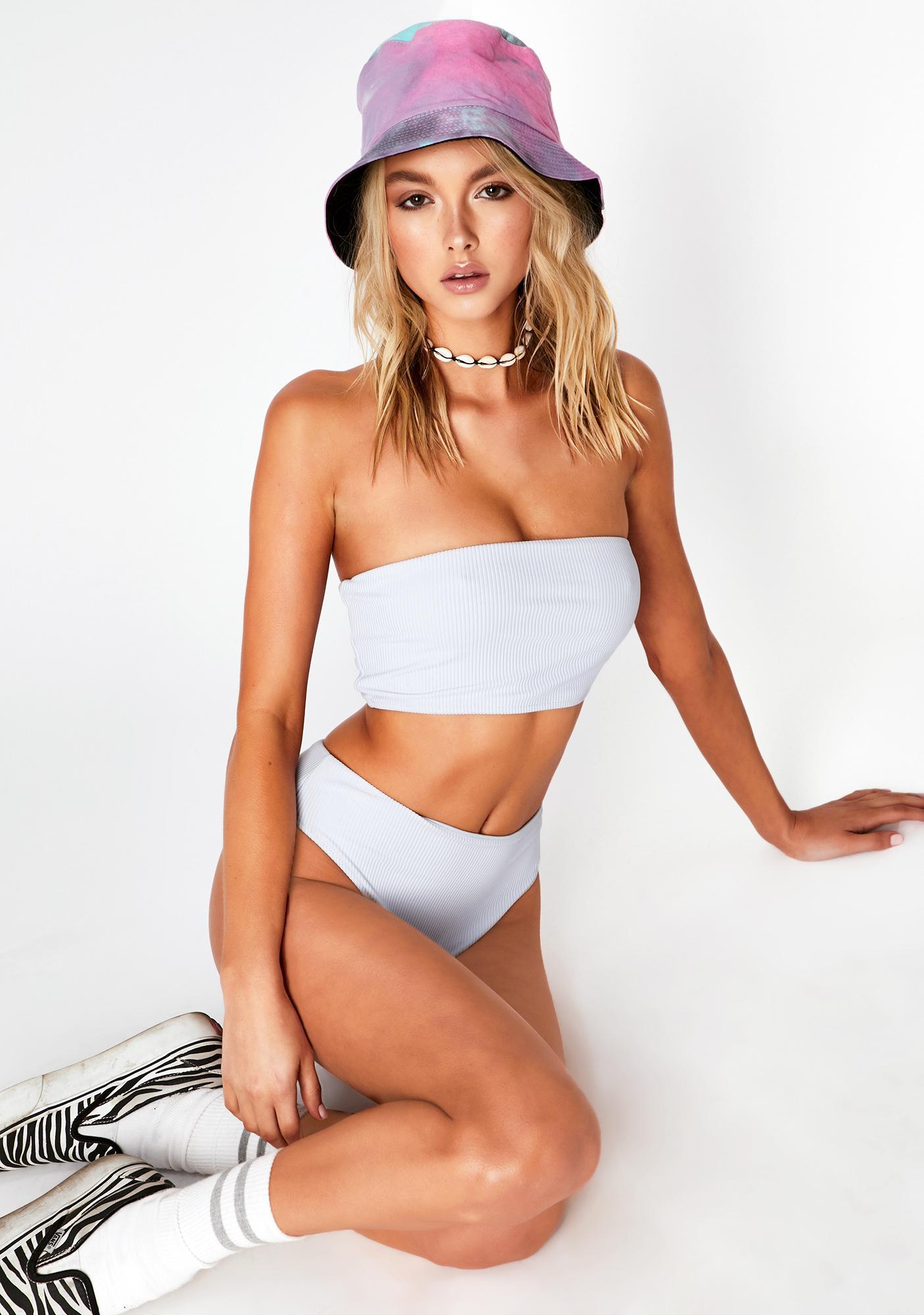 Frankies Bikinis Cloud Jenna Bikini Top