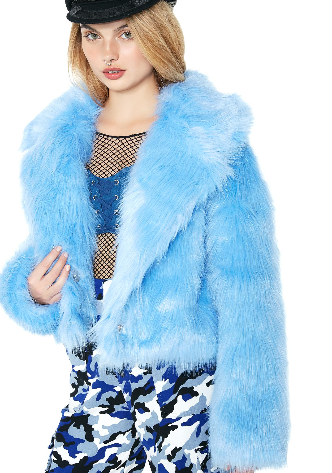 Cool Friend Or Faux Fur Jacket