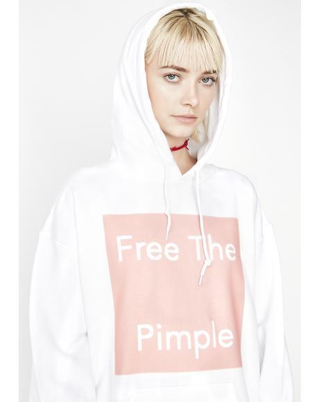 Free The Pimple Hoodie
