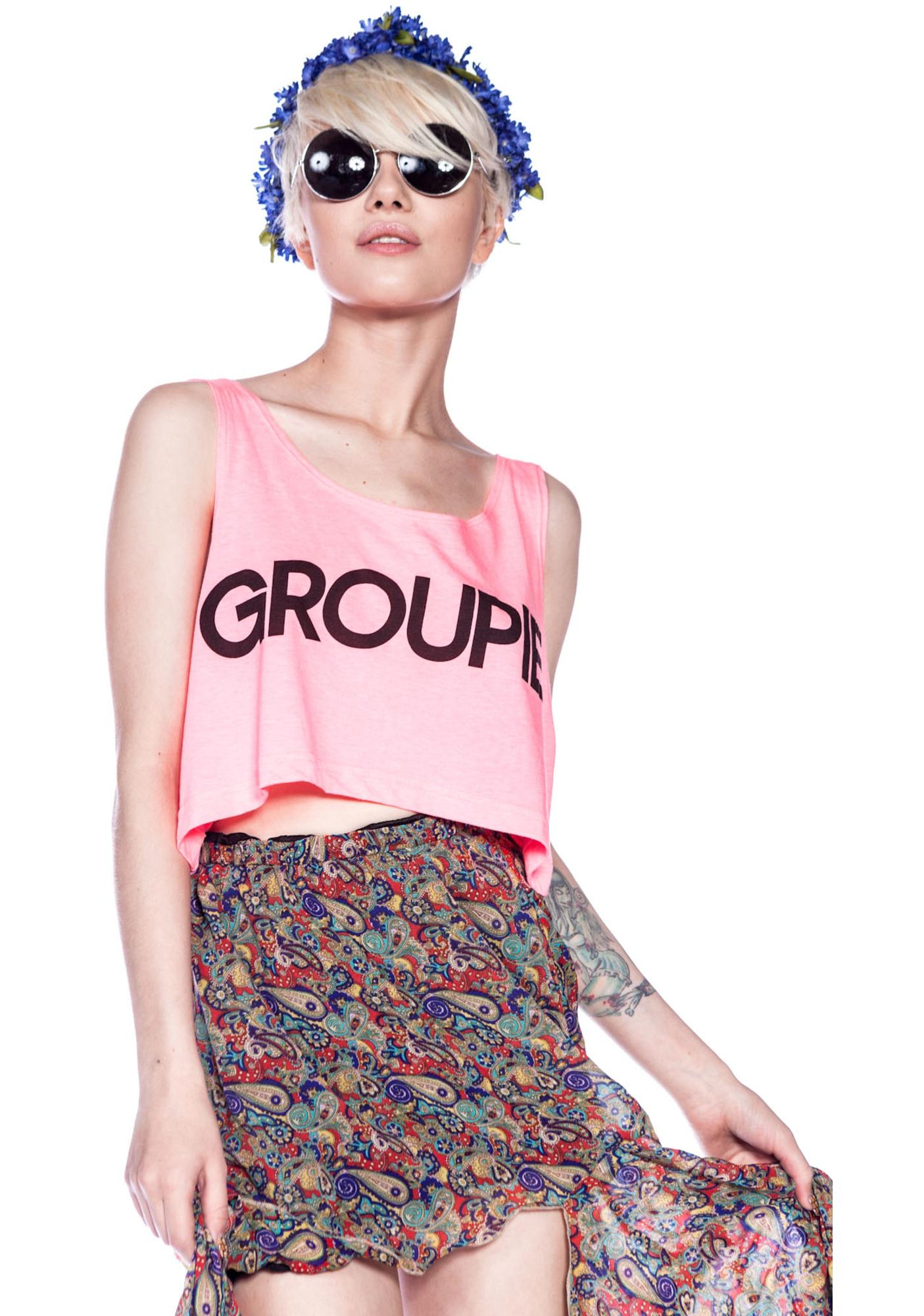 Jac Vanek Groupie Crop Top
