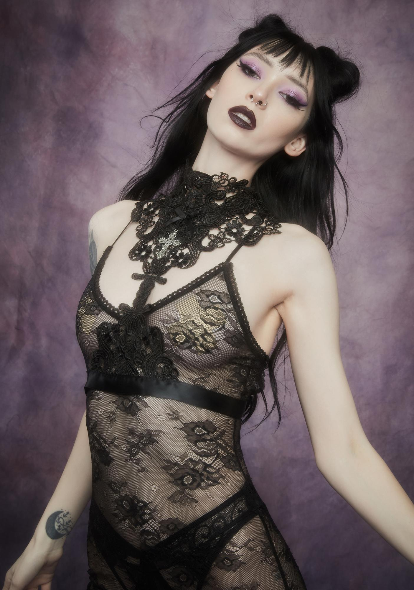 Widow Metaphysical Moment Lace Harness