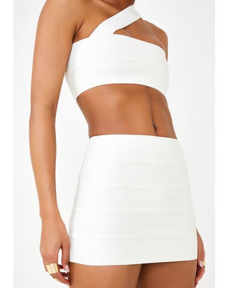Sacred Saga Mini Skirt