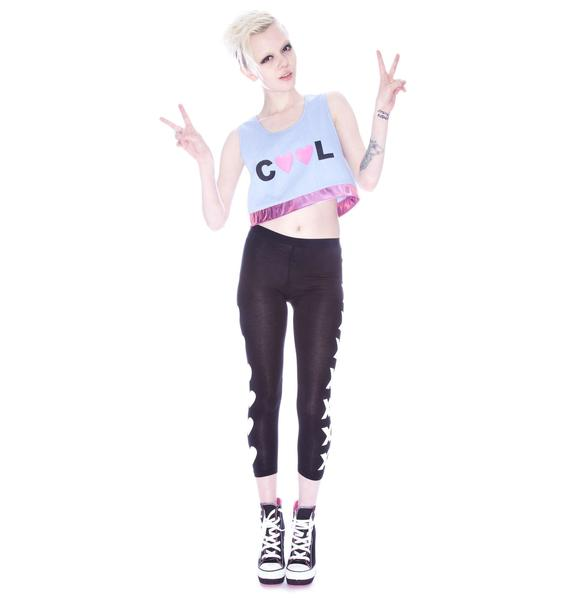 Cool Half Crop Top