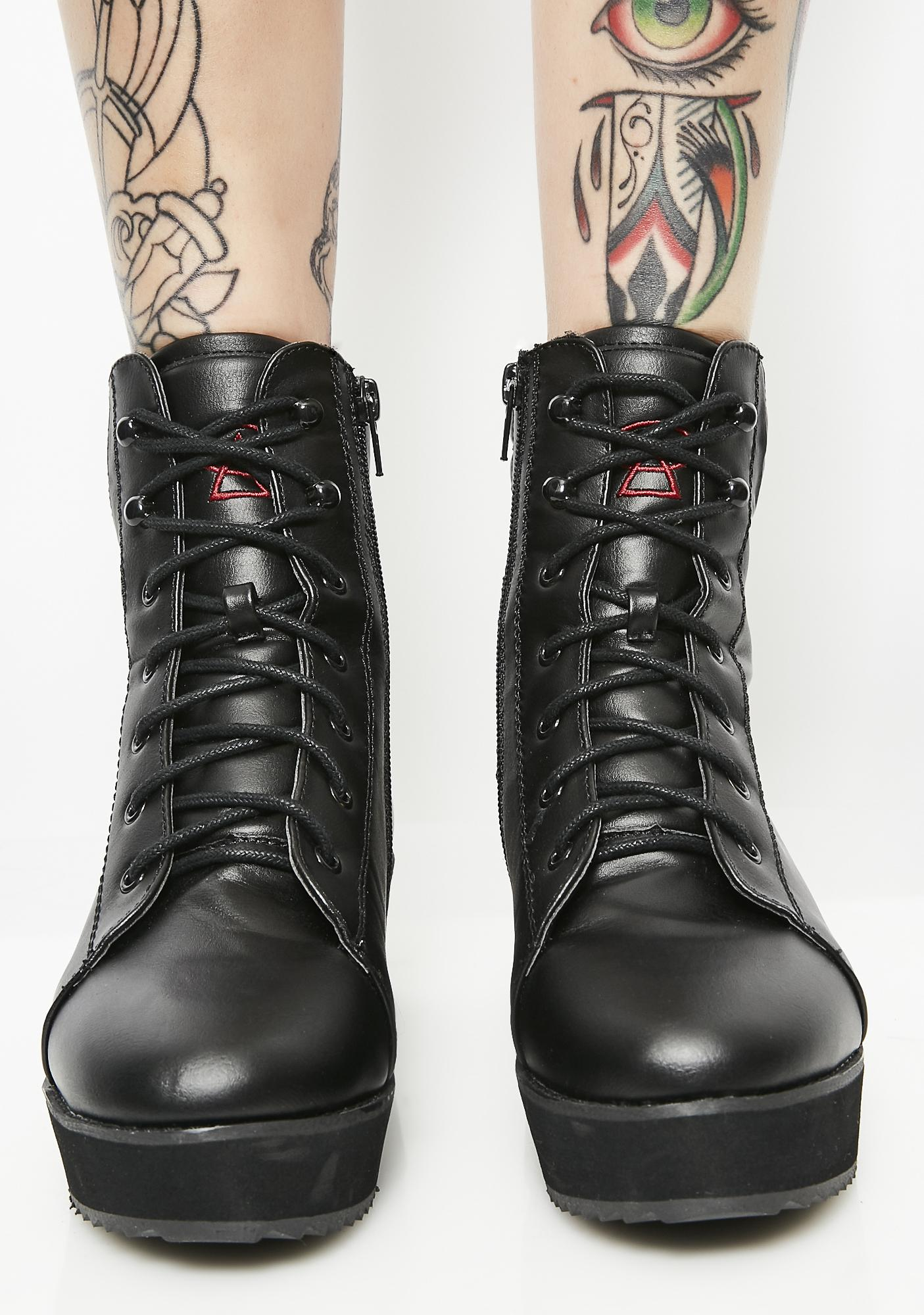 Strange Cvlt Darby Boots