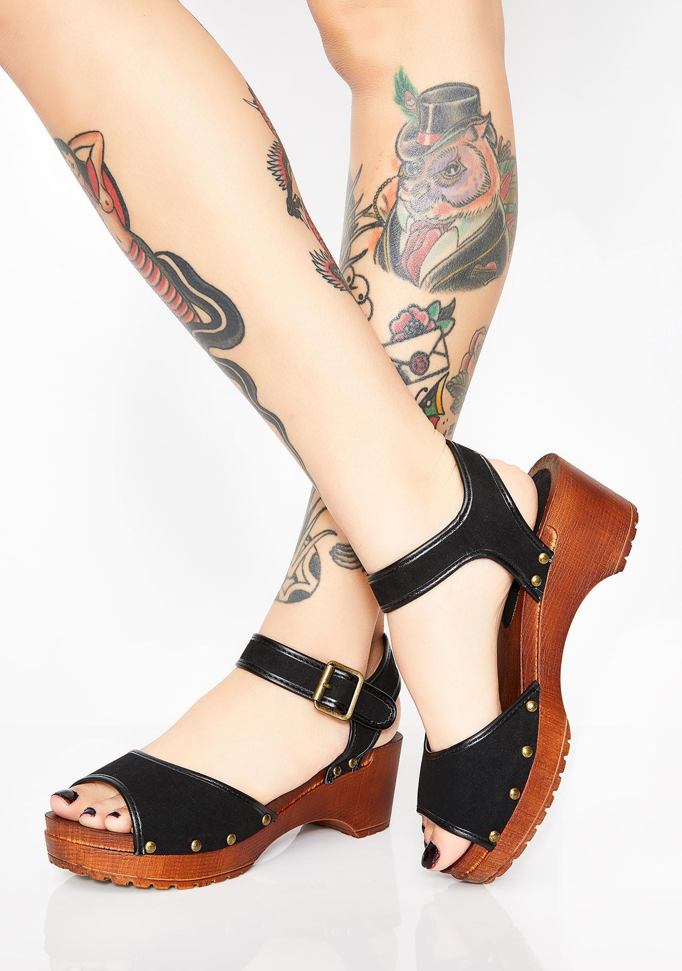 Trippy Townie Platform Sandals