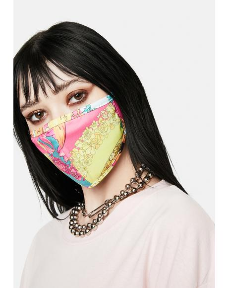Fashion Floral Face Mask