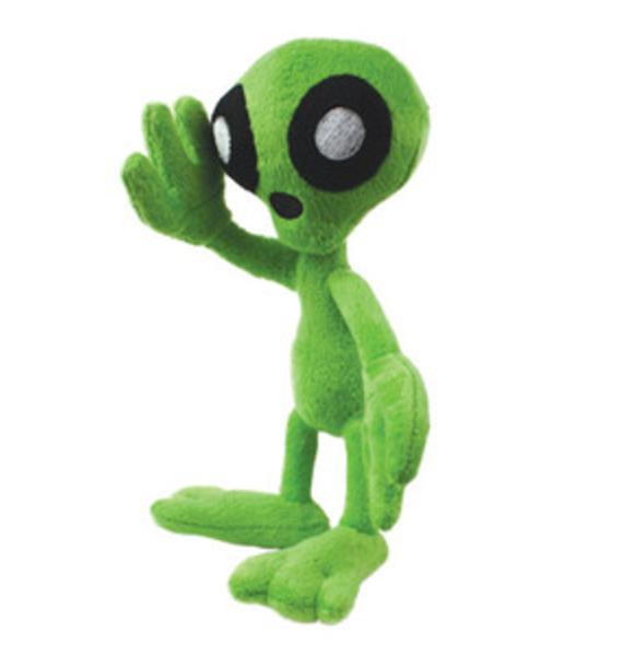 Albert Alien Mighty Dog Toy Jr.