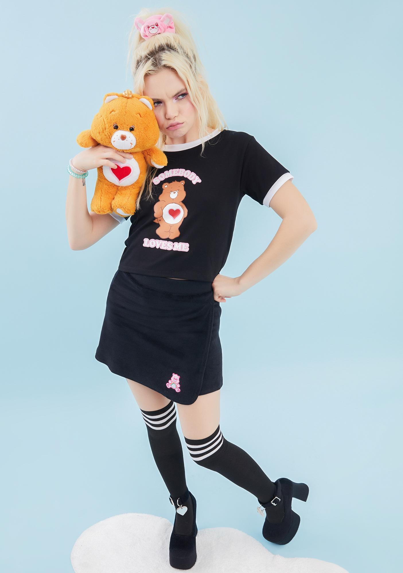 Dolls Kill x Care Bears Dare To Care Wrap Skirt