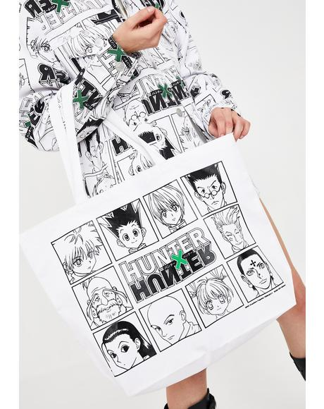 X Hunter x Hunter Character Tote Bag