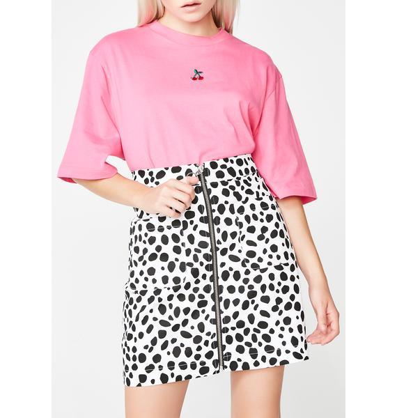 Lazy Oaf Dalmatian Skirt