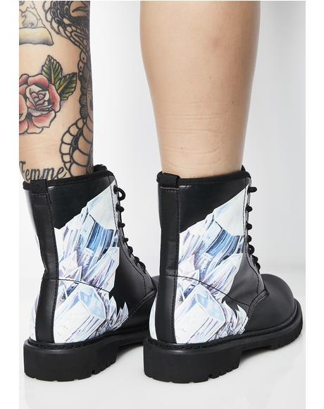 Crystals Vegan Boots