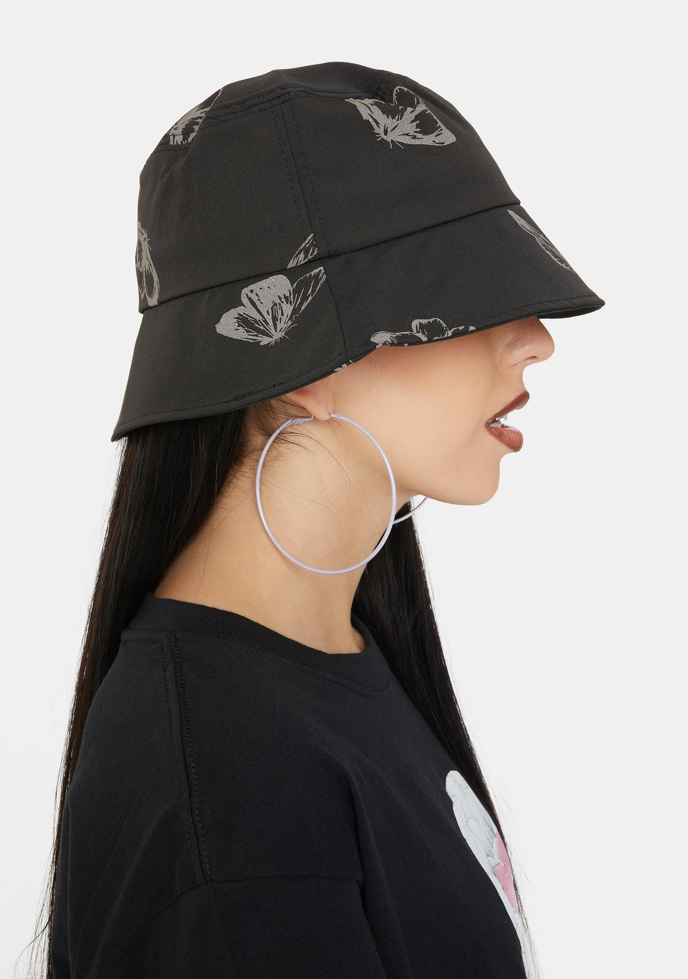 Night Fly Away Reflective Bucket Hat