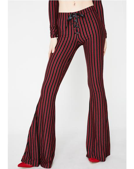 Center Of The Ring Lace-Up Pants