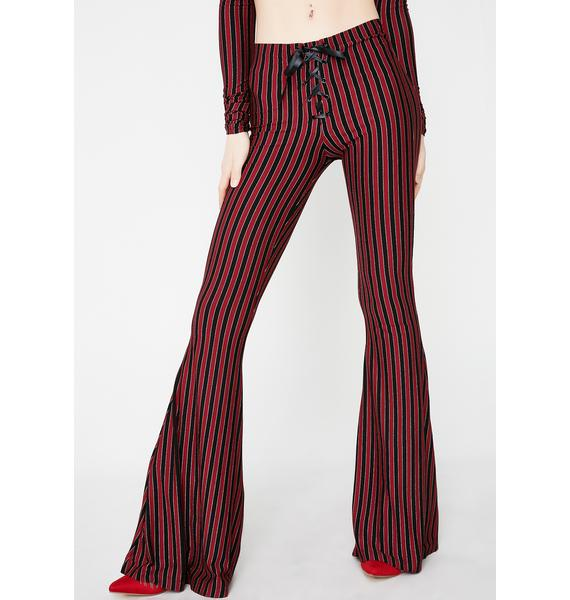 Current Mood Center Of The Ring Lace-Up Pants