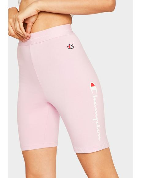Pink Everyday Bike Shorts