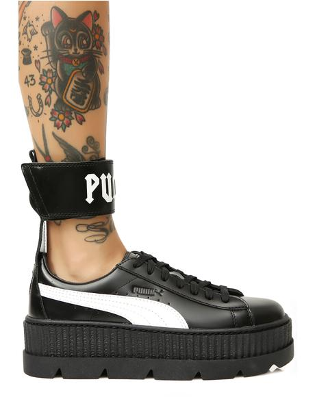 Midnight FENTY PUMA by Rihanna Ankle Strap Sneakers