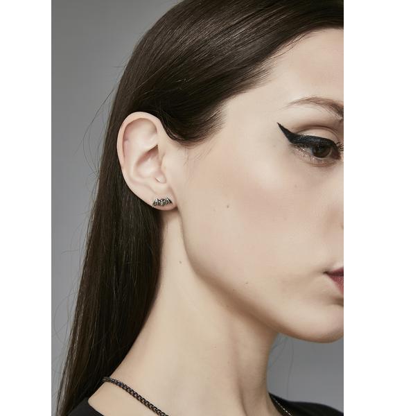 Night Flyer Stud Earrings