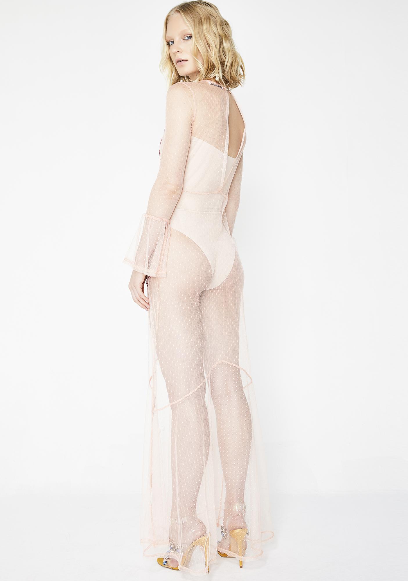 Glamorous Ethereal Babe Maxi Dress