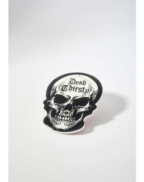 Dead Thirsty Skull Coaster