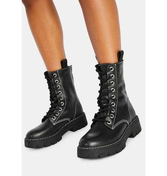 Steve Madden Kanyon Combat Boots