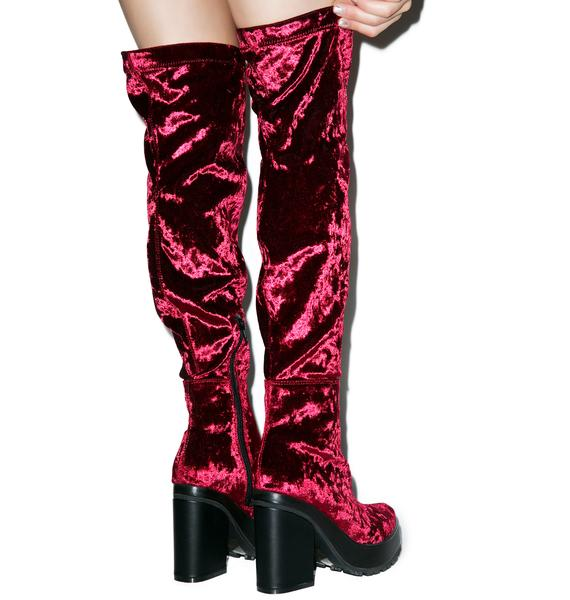 Horoscope Emi Velvet Boots