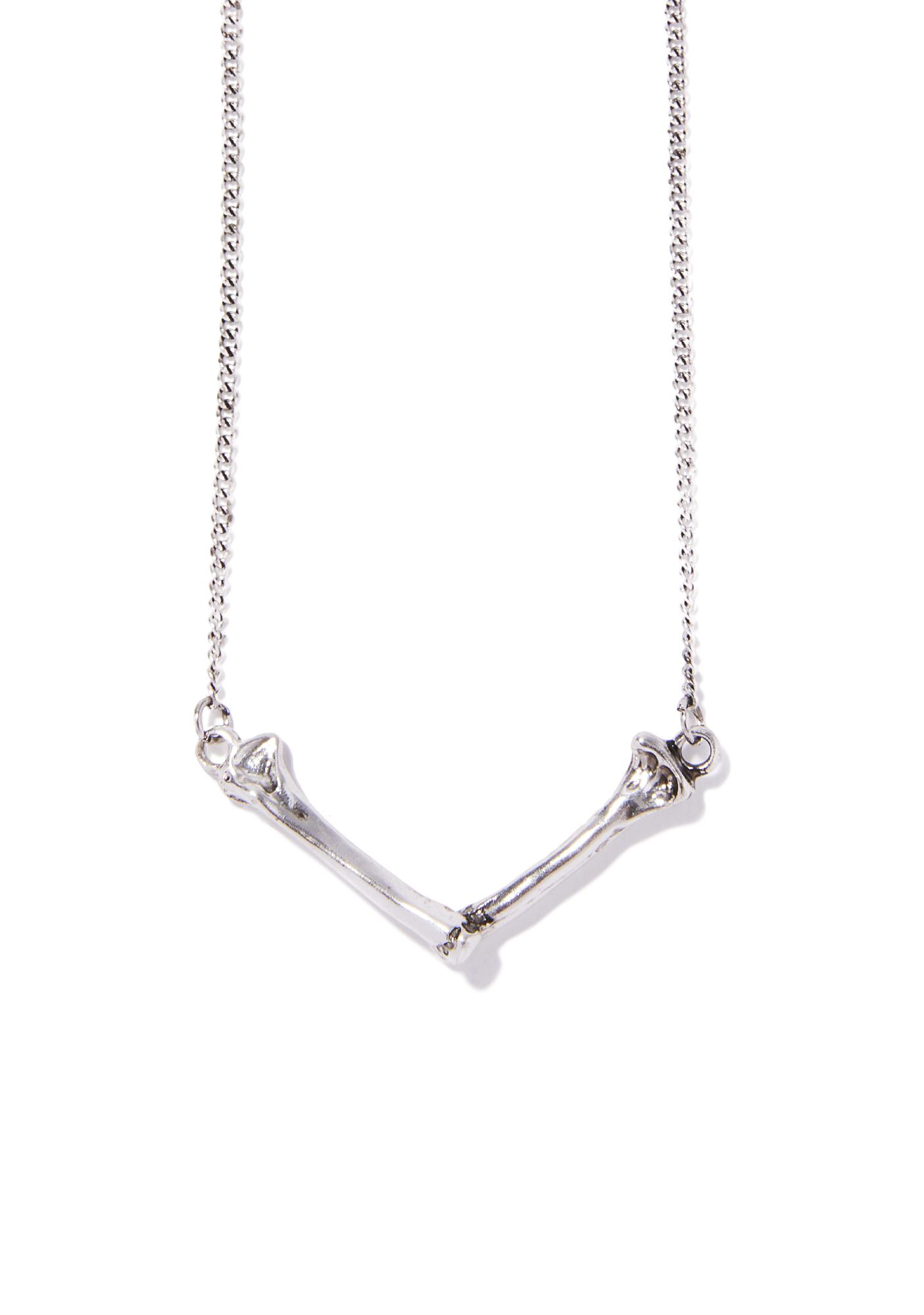 Bone To Pick Necklace