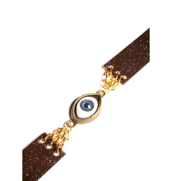 All Seeing Eye Choker