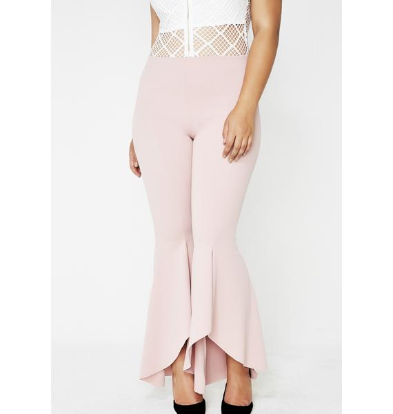 Cotton Candy Feel The Flow Flared Leggings