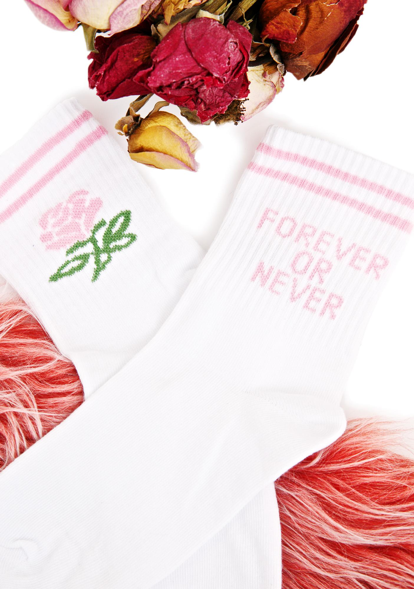 Yeah Bunny Forever Or Never Socks