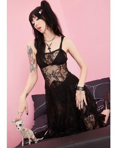 Serene Specter Lace Dress