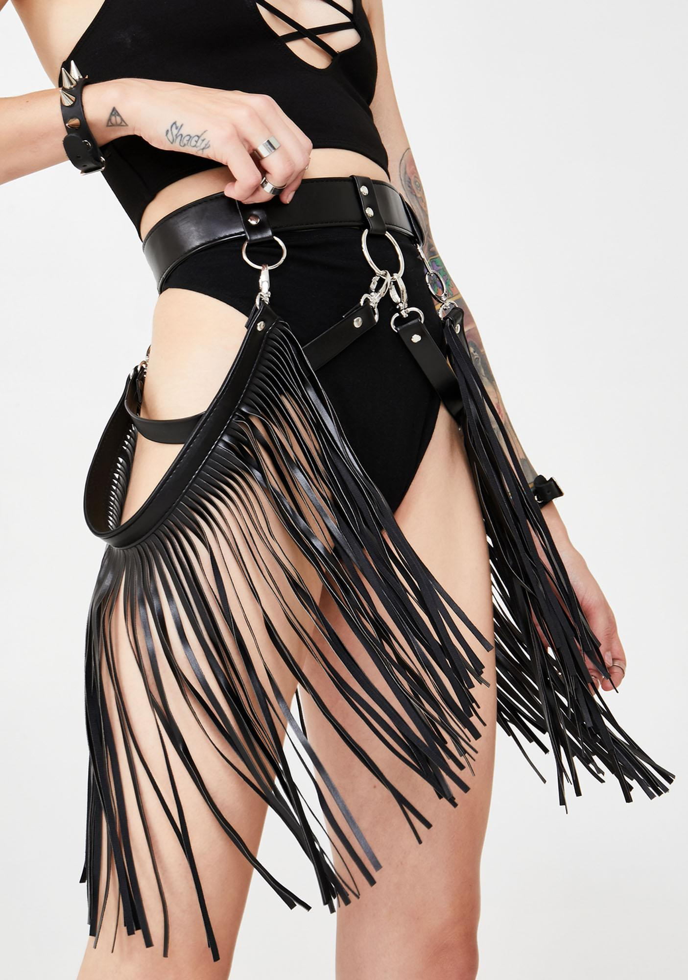 Power Trip Fringe Belt