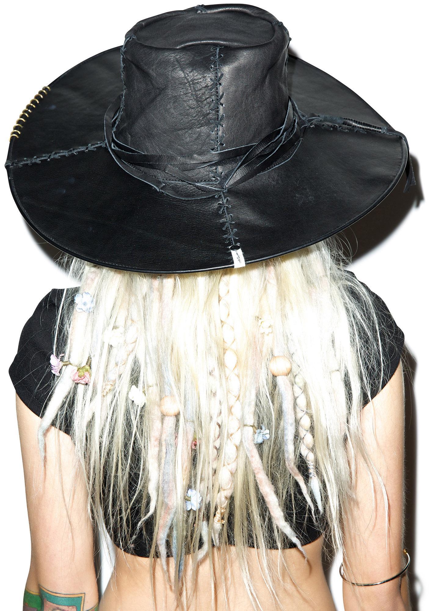 One Teaspoon Matisse Leather Hat