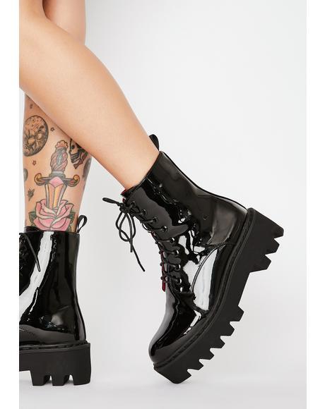 Unforgiven Foe Ankle Boots