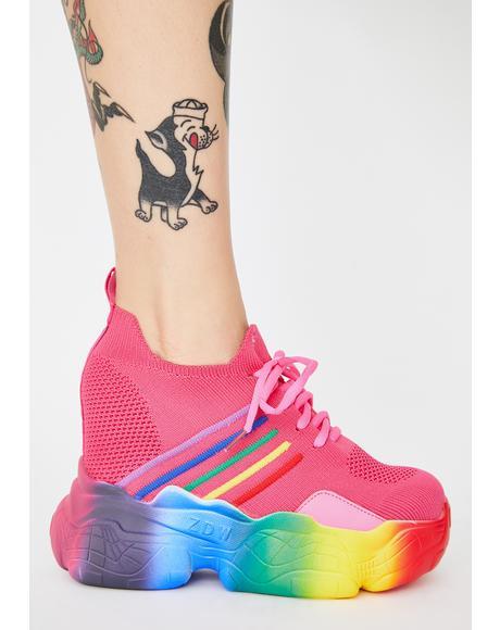 Baby Euphoria Ecstasy Platform Sneakers