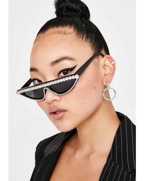 Impure Fierce Flash Cat Eye Sunglasses