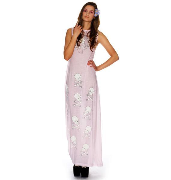 Wildfox Couture Love Poison Antoinette Maxi Dress