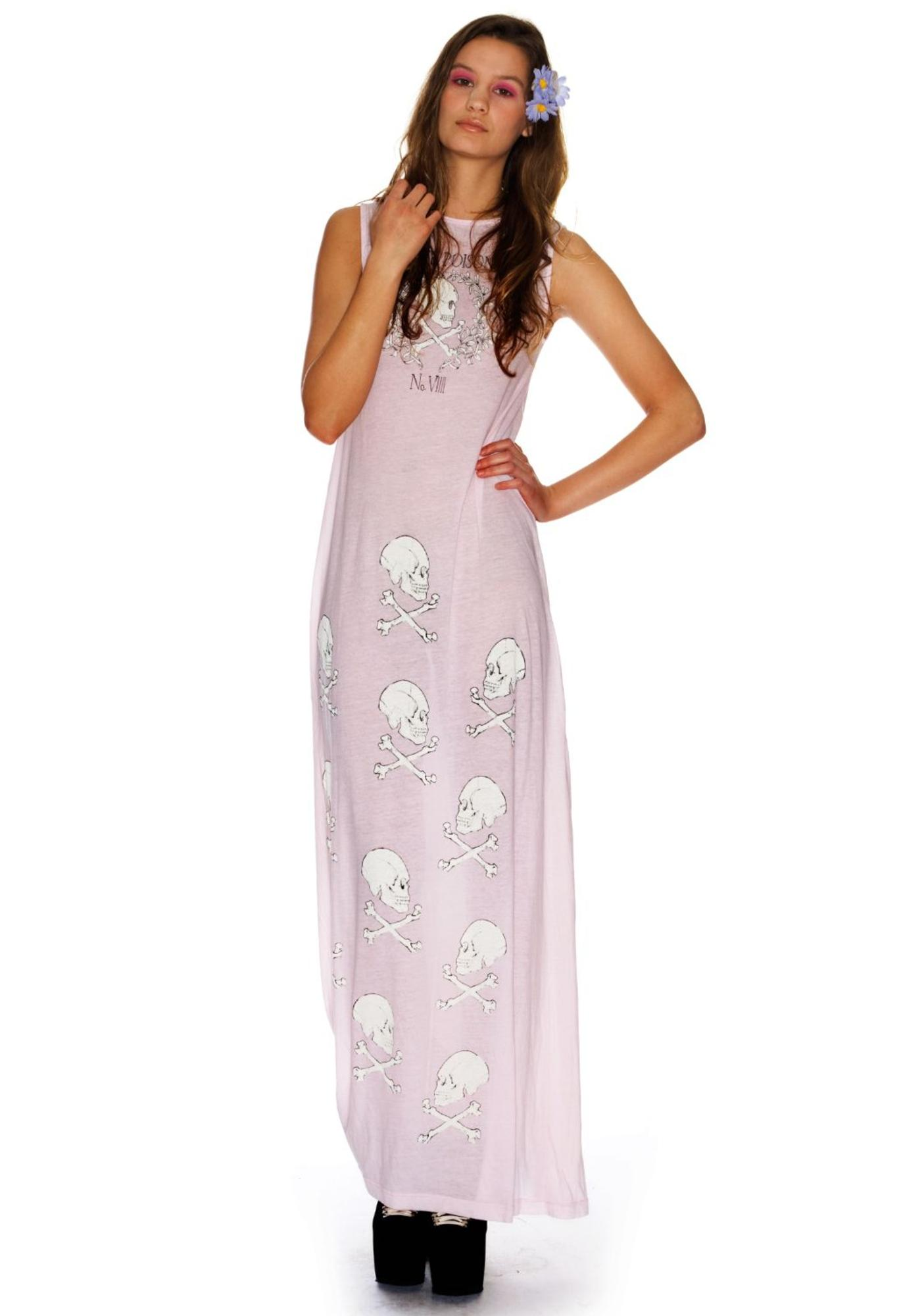 Wildfox Couture Love Poison Antoinette Maxi Dress