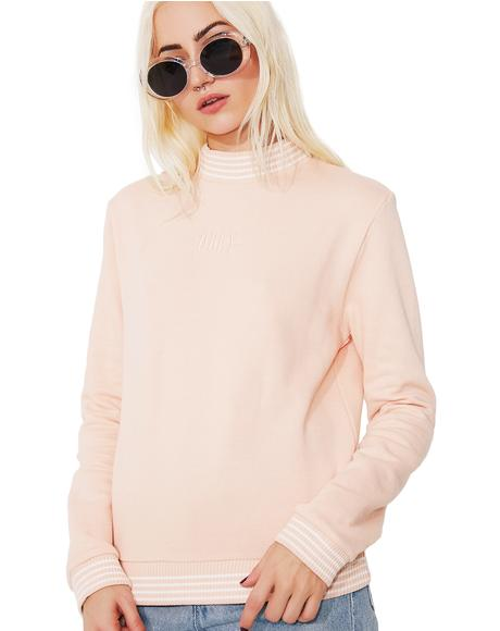 Quinn Mock Neck Sweatshirt