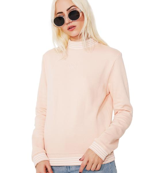 Obey Quinn Mock Neck Sweatshirt