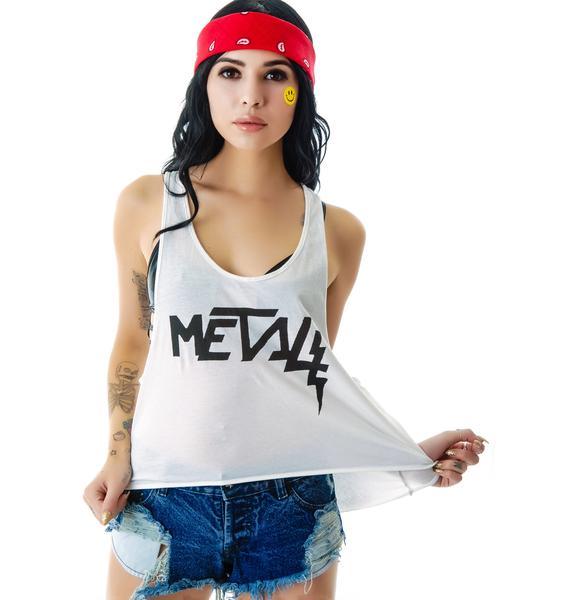 Bandit Brand Metal Rad Deep Armhole Tank