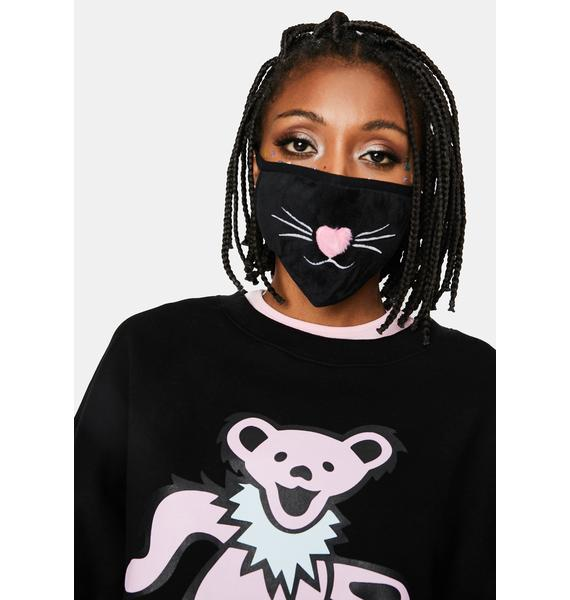 Meow Time Cat Face Mask