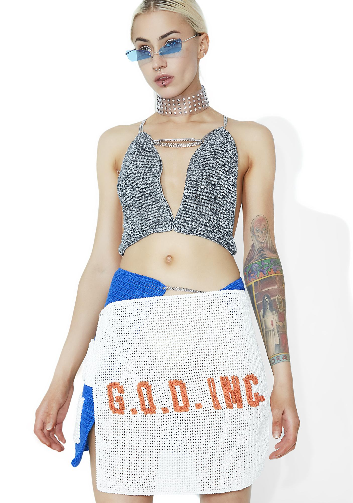 Maria ke Fisherman Made In Heaven God Skirt