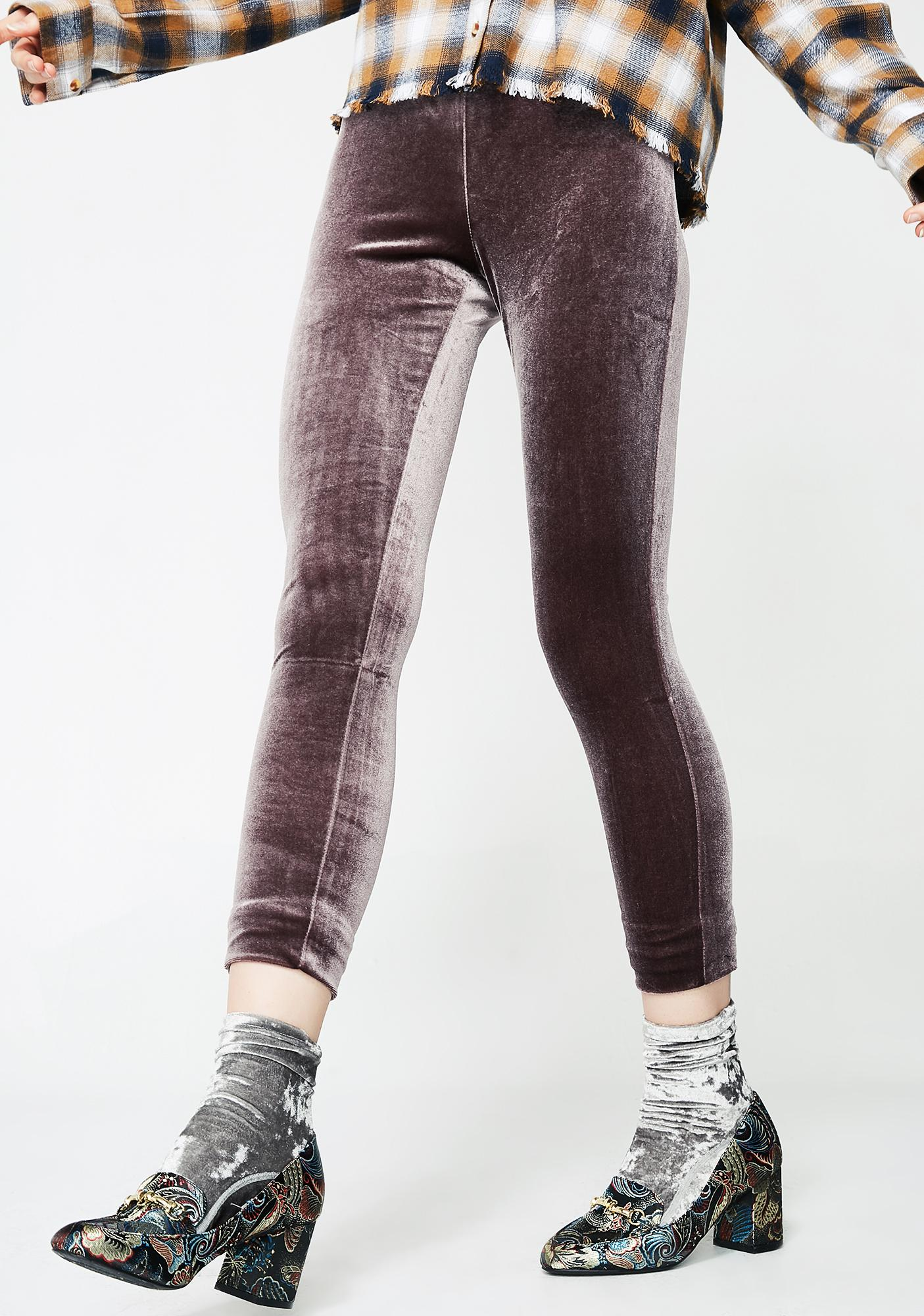 Slow Motion Velvet Leggings
