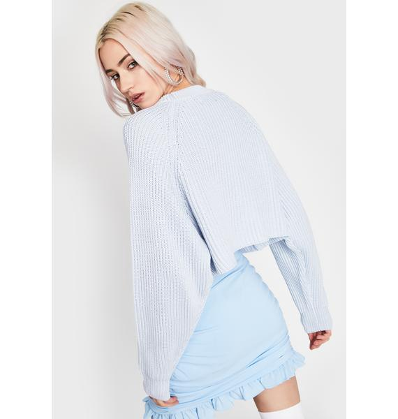 Sky Tender Touch Knit Sweater