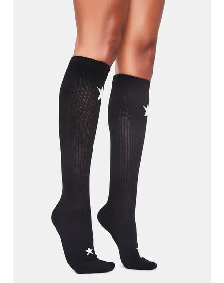 Infinite Wishes Knee High Socks
