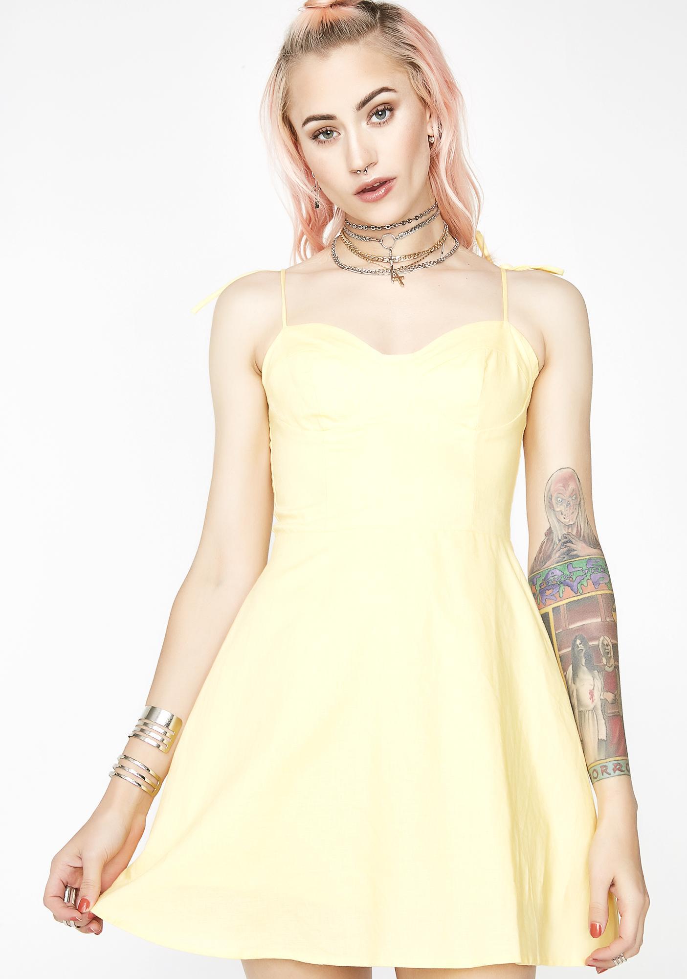 Mellow Daze Bustier Dress by Emory Park