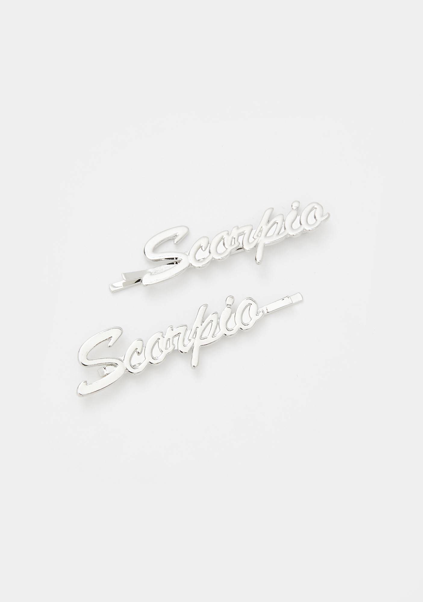 Sign Sealed Scorpio Hair Pins
