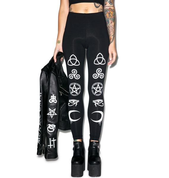 Symbol Leggings