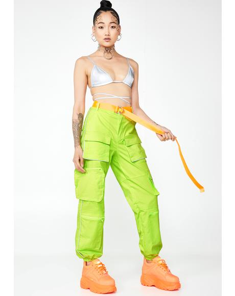 Fluoro Fight Or Flight Cargo Pants