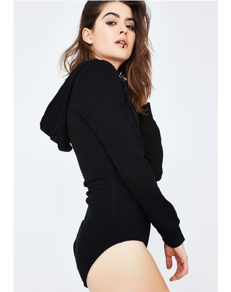 Onyx Fresh AF Hooded Bodysuit